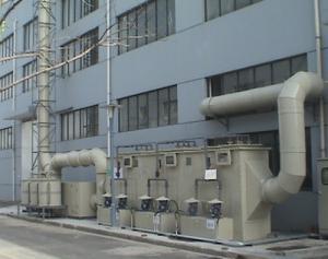 苯乙烯有机废气卧式净化塔